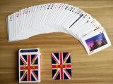 Tarjetas que juegan de papel modificadas para requisitos particulares que anudan chinas