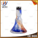 Bewegliches Huka-Wasser-Vasen-Verkauf Narguile Rohr Shisha Rauchen