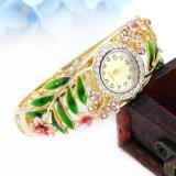 Het Horloge van de Armband van het Horloge van het Kwarts van de Vrouwen van het Horloge van de Legering van het Polshorloge van de manier