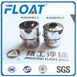 [En stock] Stainless Steel Ball Magnetic Ball Float pour Floating Switch Niveau d'eau (25mm * 28mm * 9.5mm)