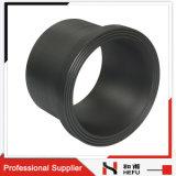 安いPn16フランジのHDPEのバット溶接水黒の管付属品