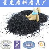 Shell de coco negro de carbono pellet para la recuperación de oro