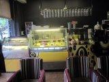 Panneau de verre de petite taille Display Cake Showcase Réfrigérateur