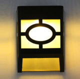 Lumière solaire extérieure IP65 de mur de PIR DEL avec du ce RoHS