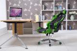 Computer Racing juego silla de oficina ejecutiva con soporte verde