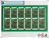 Fr4-4 Gouden PCB van de Onderdompeling van de laag met Halve Gaten