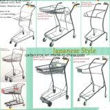 일본식 슈퍼마켓 세 바구니 장바구니, 쇼핑 트롤리,