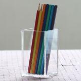 3 x 3 x 4 pouces, support de cuvette acrylique de crayon lecteur d'espace libre