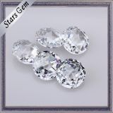 Gemstones cúbicos bonitos cortados Rosa brilhantes muito Shining da CZ do Zirconia frouxamente para a jóia