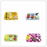 Brinquedos de madeira do enigma educacional de madeira de Foodset (CA04006)