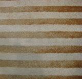 Tessuto del sofà della peluche di PV con le bande