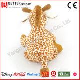 Jirafa linda de los animales rellenos de la fabricación de China