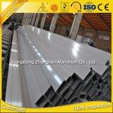 La poudre en aluminium de tube de rectangle d'approvisionnement en aluminium d'usine de la Chine a enduit