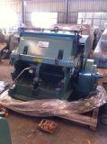 Máquina vincando e cortando do tipo da imprensa de moldura do vidro de originais Ml-1100