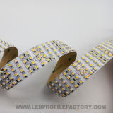 Barra flexible 12/24V IP67 RGB de la tira de la cinta LED del J. GS3528-480 LED