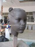 Kind-Hauptskulptur für Mannequin-Bildschirmanzeige