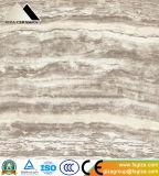 verglaasde de Marmeren Vloer van de Travertijn van het Porselein van 600X600mm Opgepoetste Tegel (Y60106)