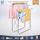 Vêtements de crémaillère d'étalage de vêtements séchant le stand de crémaillère