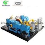 compressore del gas naturale di pressione CNG di scarico 25MPa
