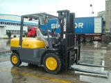 ディーゼルフォークリフトの5トンの中国上海Hytgerの工場価格