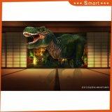ホーム装飾のための恐竜のインクジェットによって印刷される油絵