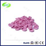 Choza antiestática del dedo del color de rosa del látex del ESD de la alta calidad de limpio sin el polvo