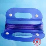 мешок несущей PVC внимательности тела способа пластичный с закрытием застежки -молнии (SGS NON-PHTHALTE)