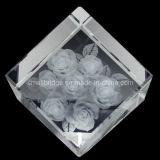 Cristal 3D Rose