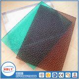 Alourdir la plaque solide de polycarbonate givrée par barrière polonaise de bruit de diffuseur de jour