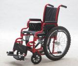 Manual de acero, niños, sillón de ruedas, (YJ-013D)