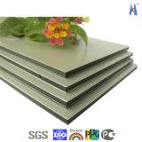 Material composto plástico da decoração da parede de /Interior do painel de Aluminum/Aluminium