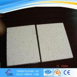 Panneau minéral acoustique de plafond de fibre