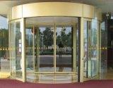 Porta giratória automática - construção Titanium da liga
