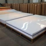 Acrylique blanc de vente chaud de résine d'espace libre fait sur commande de décoration