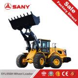 Sany Syl956h Fabrikanten van de Lader van het VoorEind van China van de Lader van het Wiel van 5 Ton de Goedkope