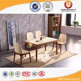 Tabela de jantar de madeira dos jogos da sala de jantar da mobília da parte alta (UL-Y062B)