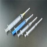 바늘 세륨 ISO SGS GMP TUV를 가진 의학 처분할 수 있는 2 부품 주사통