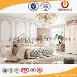 2016 гловальных горячих продающ самомоднейшую кровать неподдельной кожи (UL-FT618A)