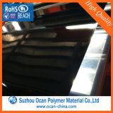 Folha do PVC do preto do tamanho padrão dos pés 3*4 para a impressão do Silk-Screen