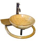 Oppoetsend Graniet/Marmeren Steen Basin/Sink voor Bathirrom, Keuken, Hotel