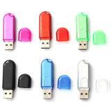 Vara da memória do USB 2.0 do plástico 16GB do tipo do logotipo para a promoção