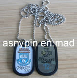 Гана Metal Dog Tags для Man, Military Dog Tags для School