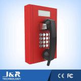 Telefono con la visualizzazione dell'affissione a cristalli liquidi, telefono dei parcheggi, telefono della prigione, telefono dell'ospedale di servizio del credito