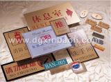 Support acrylique de signe de support de signes/marques de Silkscreen