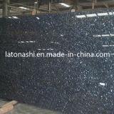 Granit bleu normal de tuile de pierre de perle pour Coutertop, brame, Backsplash