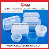 De plastic Vorm van het Deksel van de Container van het Roomijs van de Injectie