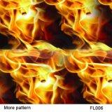 Kingtop 0.5m Schedels van de Breedte en de Film van het Af:drukken van Aqua van het Ontwerp van de Vlam