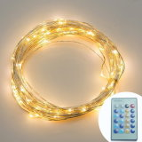 IR Remote 10m 100 LED Copper Wire String Light