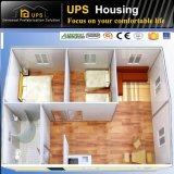 Una casa del panel concreta prefabricada de emparedado del dormitorio con Windows y las puertas