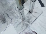 Клейкая лента полосы битума проблескивая